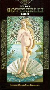 Golden Botticelli Tarot - karty Tarota