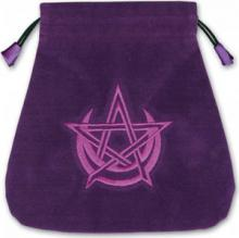 Woreczek do kart i run Symbol wicca